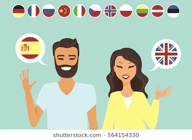 couple-speaking-different-languages-flat-260nw-564154330